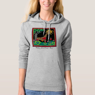Compassionate Communication Makes Love... Wshirt Hoodie