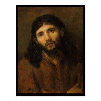Compassionate Eyes Jesus Postcard
