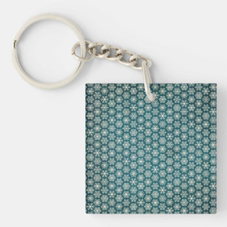 Compassionate Healthy Motivating Heavenly Double-Sided Square Acrylic Keychain