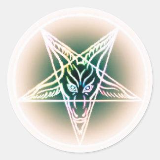 Compassionate indulgence round sticker