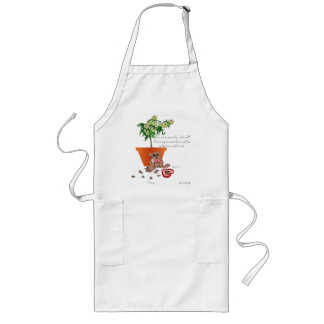 Compassionate Love, of a naughty Bear! Long Apron