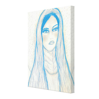 Compassionate Mary Canvas Print