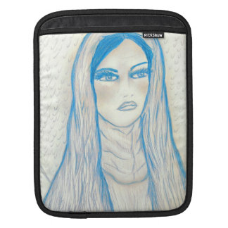 Compassionate Mary in Blues iPad Sleeve