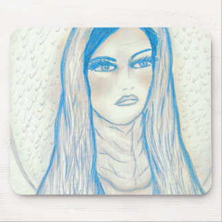 Compassionate Mary - In Blues Mouse Pad