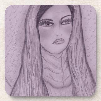Compassionate Mary in Purple Coaster