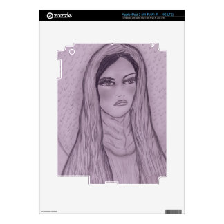 Compassionate Mary in Purple iPad 3 Decal