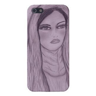 Compassionate Mary in Purple iPhone SE/5/5s Case