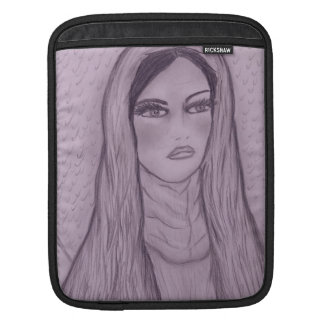 Compassionate Mary in Purple Sleeve For iPads