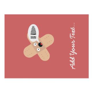 compassionate patch postcard