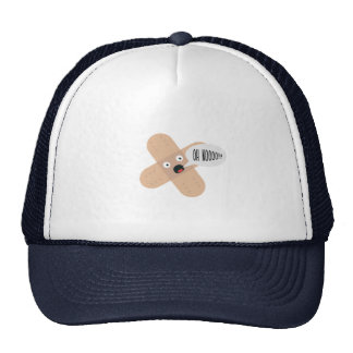 compassionate patch trucker hat