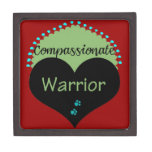 Compassionate Warrior Apparel and Gifts Premium Trinket Boxes