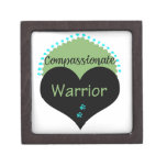 Compassionate Warrior Apparel and Gifts Premium Jewelry Box
