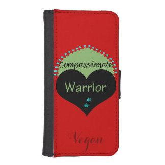 Compassionate Warrior iPhone SE/5/5s Wallet