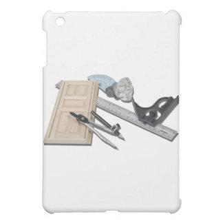 CompassRulerDoorKnobTools021411 iPad Mini Case