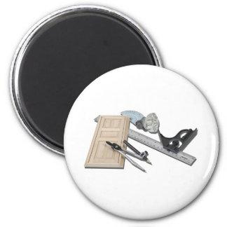 CompassRulerDoorKnobTools021411 Magnet