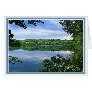 *Compensation in every disappointment: Walden Pond Card