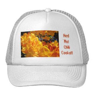 Competencia candente de los gorras de los camioner
