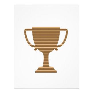 Competencia de deportes de los juegos del premio plantilla de membrete