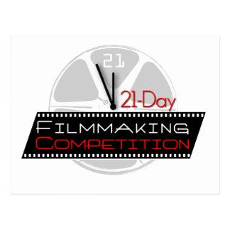 competencia de la cinematografía 21-Day Postales