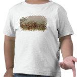 Competencia del tiro al arco de Mandan, c.1832 Camisetas