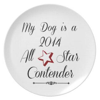 Competidor de All Star Platos De Comidas