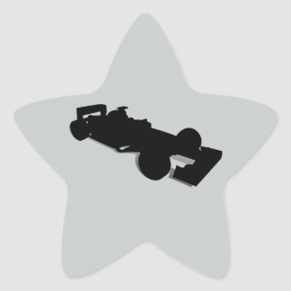 Competir con Car_2 Pegatina En Forma De Estrella