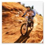 Competir con Dirtbike campo a través Impresiones Fotográficas