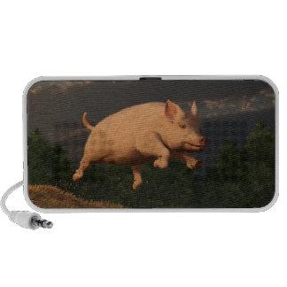 Competir con el cerdo mp3 altavoz