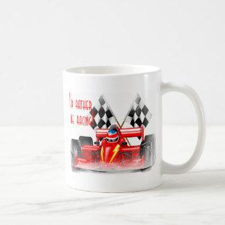 Competir con el engranaje taza de café