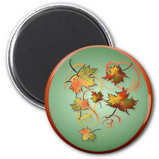 Competir con el imán del viento del otoño
