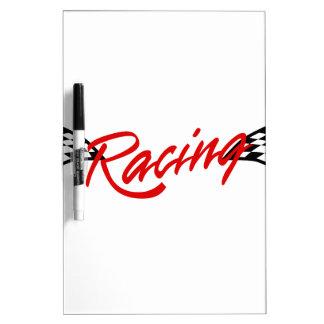Competir con el logotipo tableros blancos