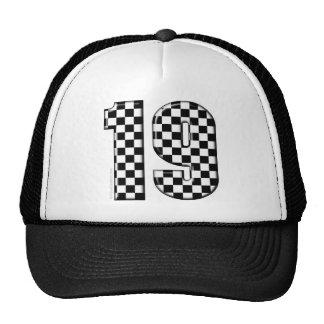 competir con el número 19 gorra