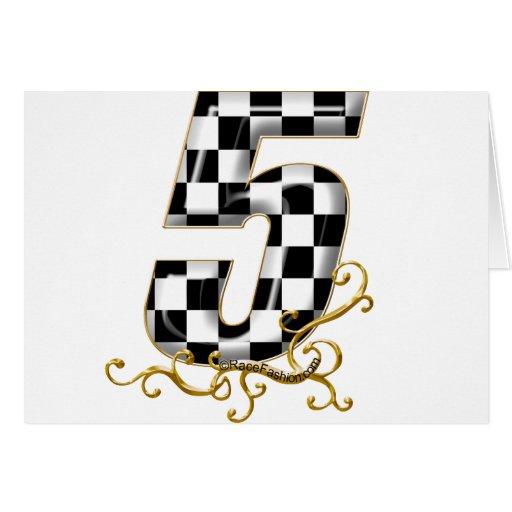 competir con el número 5 felicitación