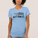 Competir con el tanque del autismo 4 camisetas