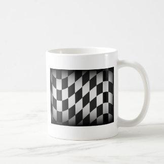 Competir con la bandera taza de café
