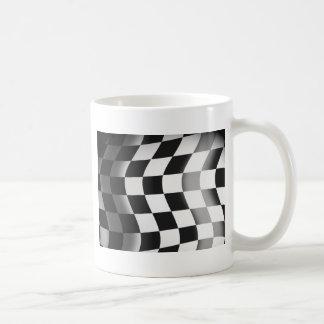 Competir con la bandera tazas de café