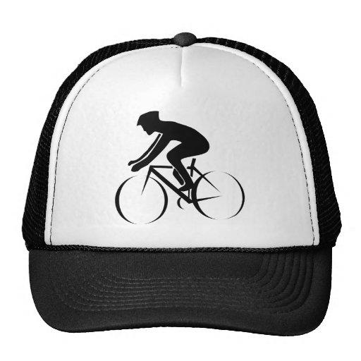 Competir con la bici gorras