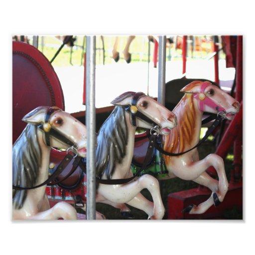 Competir con la impresión de los caballos 10x8 del arte fotográfico