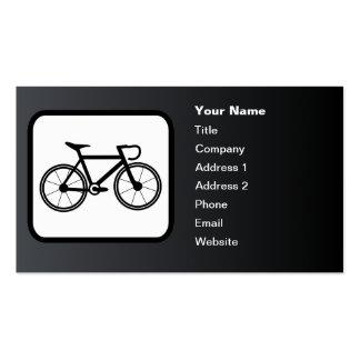 Competir con negro del personalizable del logotipo tarjetas de visita