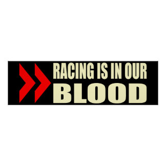Competir con sangre impresiones