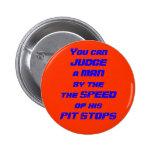Competir con velocidad de su botón de paro del hoy pin