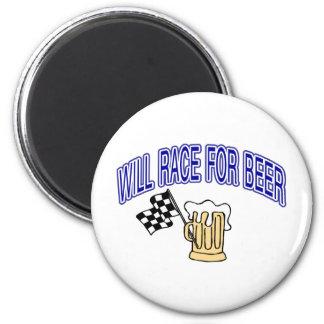 Competirá con para la cerveza imán redondo 5 cm