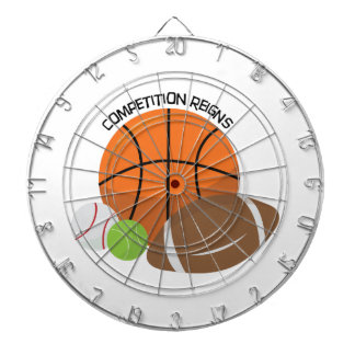 Competition Reigns Dartboard