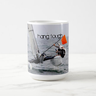 Competition Sailing Catamaran Picture Coffee Mug