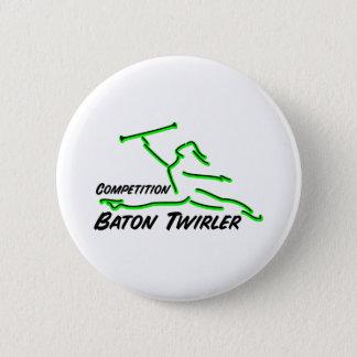 Competition Twirler Button