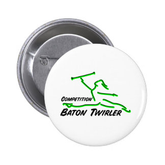 Competition Twirler Pin
