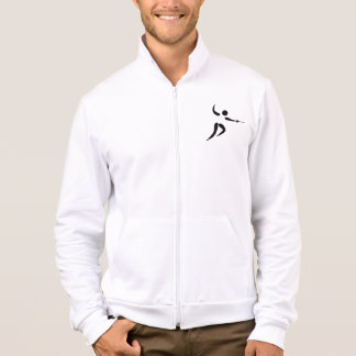 Competitive and Olympic Fencing Pictogram Jacket