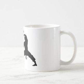 competitive athlete black coffee mug
