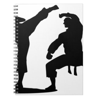competitive athlete black notebook
