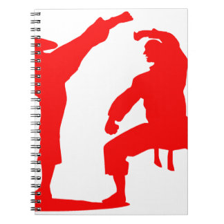 Competitive athlete-talk notebook